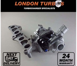 Toyota Yaris 1.4 D4-D CT9 17201-33010 17201-33020 11657790867 Turbocharger Turbo
