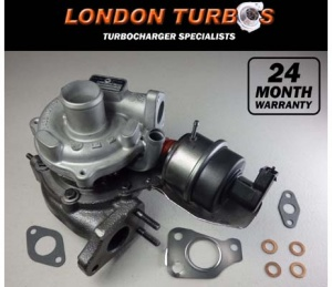 Vauxhall Fiat Lancia Alfa 1.3 90HP-75KW 54359880027 Turbocharger Turbo + Gaskets