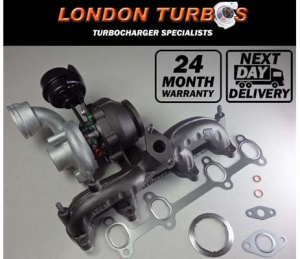 Volkswagen Transporter T5 1.9TDI 105HP-77KW 54399700020 / 09 Turbo + Gaskets