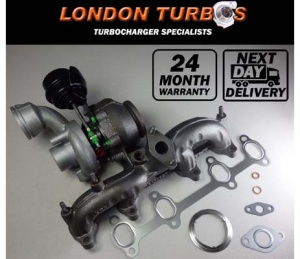 VW T5 Transporter 1.9 TDI 75KW 62KW BV39 54399700057 Turbocharger + Gaskets
