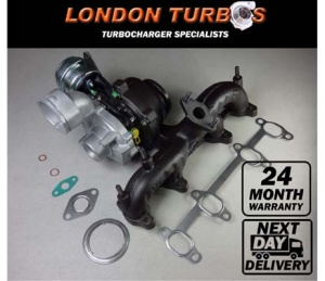 AUDI SEAT SKODA VW 1.9TDI 105HP-77KW GT1646V 751851 Turbocharger + Gaskets