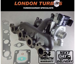 Ford Mondeo / Jaguar X-Type 2.2TDCi 155HP 114KW 758226 Turbocharger + Gaskets