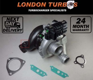 Mercedes S 320 765156 / 761399 Garrett Turbocharger Turbo + Gaskets