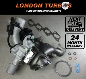 Vauxhall / Chevrolet 1.4L 138/118HP-103/88KW 781504 Turbocharger + Gaskets
