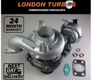 Ford Peugeot Citroen Volvo 1.6 114HP-84KW 806291 784011 Turbocharger + Gaskets