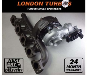Volvo C30 C70 S40 S60 S70 S80 V50 XC90 762060 2,4 D5 (2006-) Turbocharger Turbo