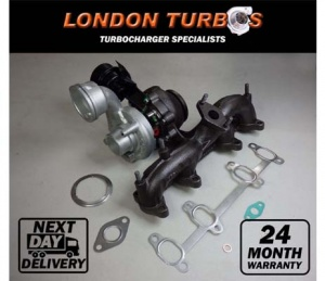 VW T5 Transporter 1.9TDI 105HP-77KW BV39-0097 54399700097 Turbocharger + Gaskets