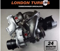 Mercedes 2.2CDI CLK GLK 220 250 54399700120 Bi-Turbo Turbocharger