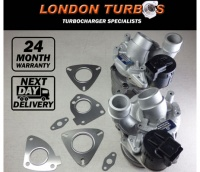 Land-Rover Range Rover 3.6TDV8 Sport (Left & Right 63/64) 2 x Turbochargers