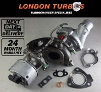 Land Rover / Jaguar 3.0TDV6 211/245HP-155/180KW 778401 Turbocharger + Gaskets