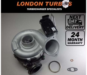 BMW 525 / 530 / 730 3.0D / XD 235HP-173KW 758351 Turbocharger Turbo + Gaskets