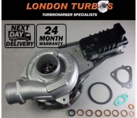 Volvo S60 S80 / V70 / XC70 / XC90 2.4D 185HP-136KW 757779 Turbocharger + Gaskets